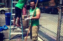 Samuel Gompers HS Garden Launch, May 31st, 2013